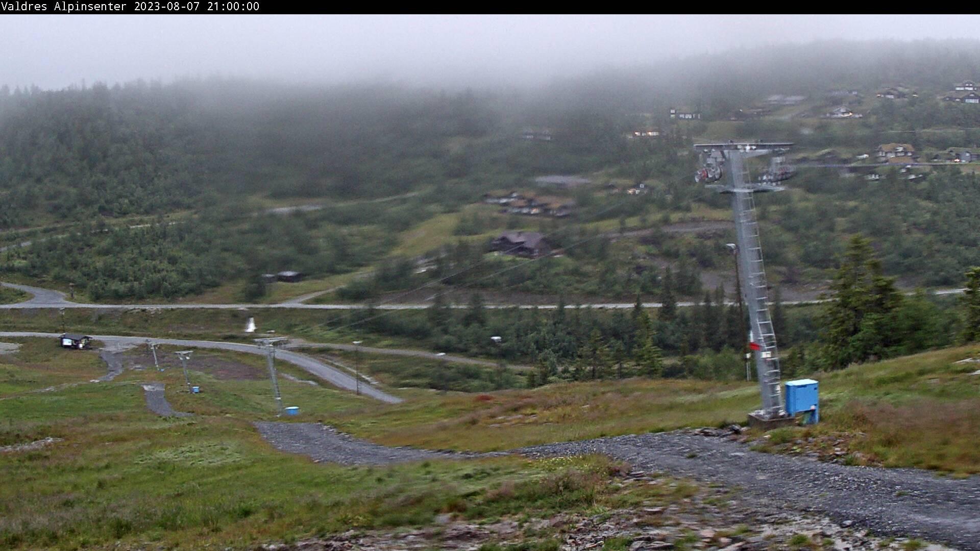 Webkamera Fjellstølheisen i Valdres Alpinsenter