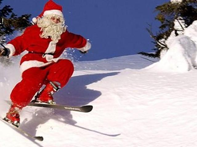 Julen i Valdres Alpinsenter