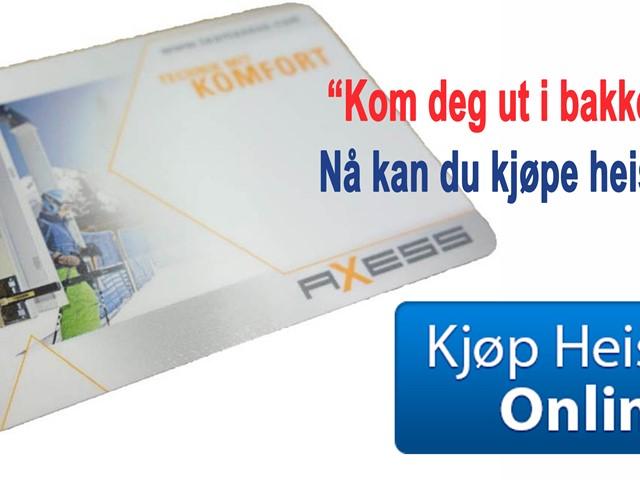 Nå kan du kjøpe heiskort Online