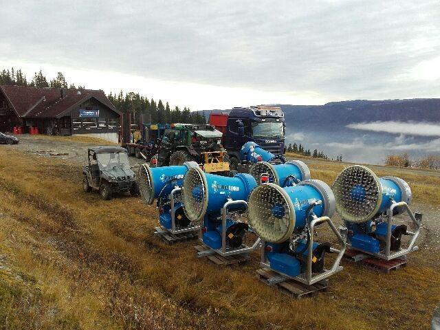 Store utbedringer innenfor snøproduksjon