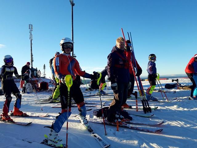 En fin helg, med fine forhold og glade alpinentusiaster som fikk et godt treningsutbytte...