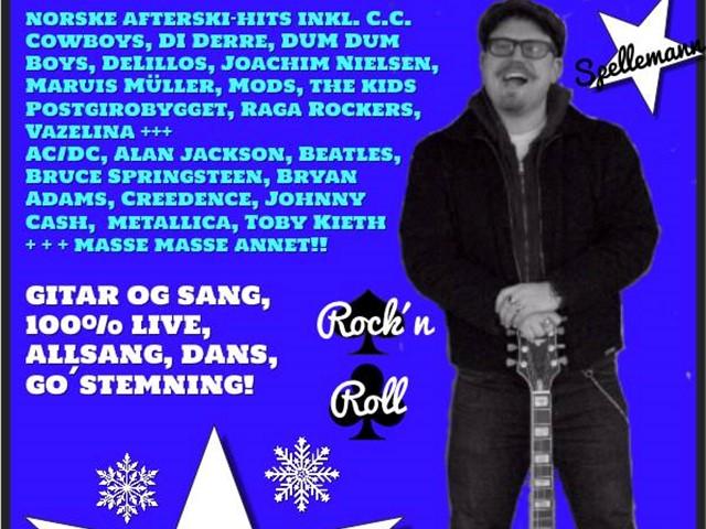 Trubadur Joar Balstad spiller i Koja lørdag 9. mars